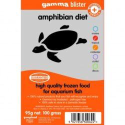 Gamma blister Amphibian diet 95g